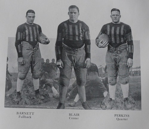 Old Yearbook, Football Team