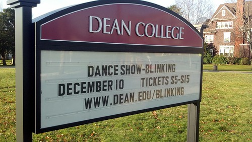 Dean College - show time!