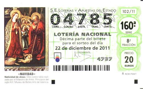 Lotería 2011
