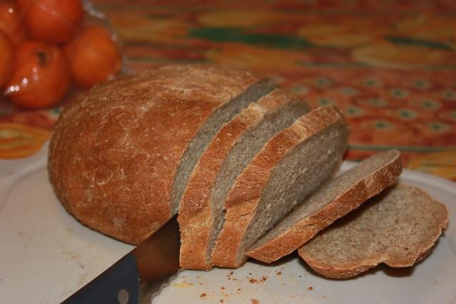 Pain blé-kamut maison