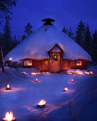 Otra atracción de Papa Noel en Finlandia: Joulukka