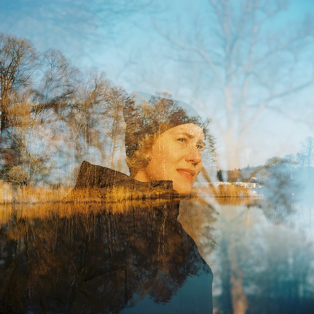 Double exposure by Marcus Rydling
