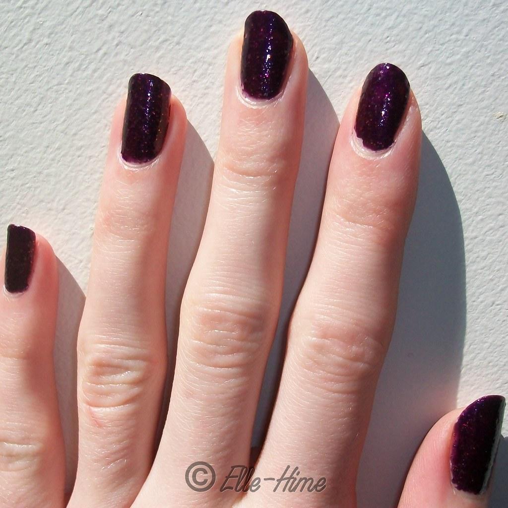 Princessly Polished: Swatches: Glitrix nail polish in Royal Chic!