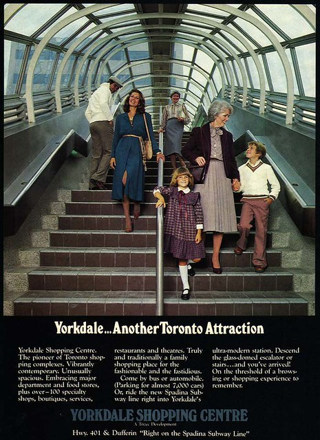 Vintage Ad #1,756: Yorkdale...Another Toronto Attraction