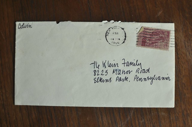 envelope from 1966