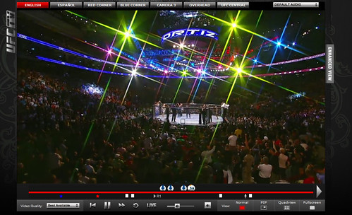 UFCTV player 2