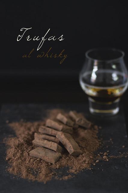 Trufas al whisky