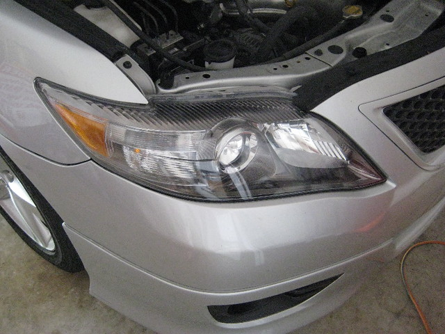 2010 toyota camry headlight assembly low beam high beam turn signal park. Black Bedroom Furniture Sets. Home Design Ideas
