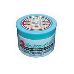 soap and glory blueberry thrill moisturiser and exfoliator