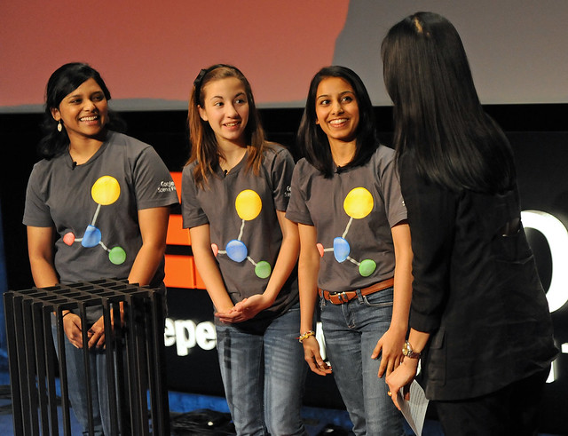 TEDxWomen Speakers and Winners of the First Annual Google Science Fair