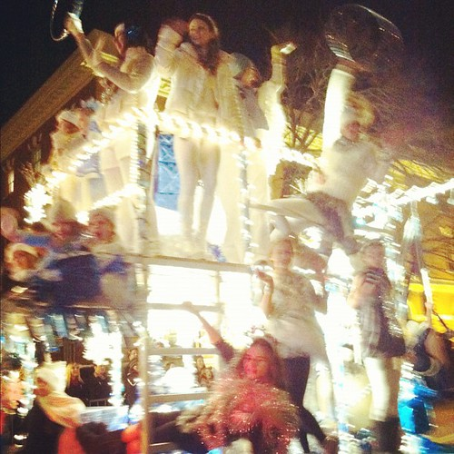 Athens Christmas Parade 2011 Canopy Friends