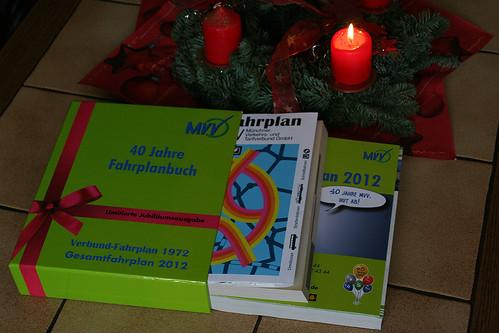 40 Jahre Fahrplanbuch: Nachdruck und aktuelle Ausgabe