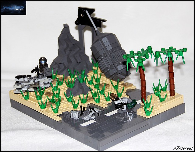 HALO ODST MoC : Attack of the Grunts!