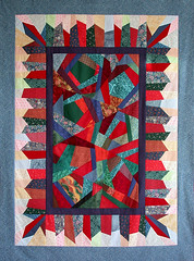 Crazy Quilt Top - Final Border Added
