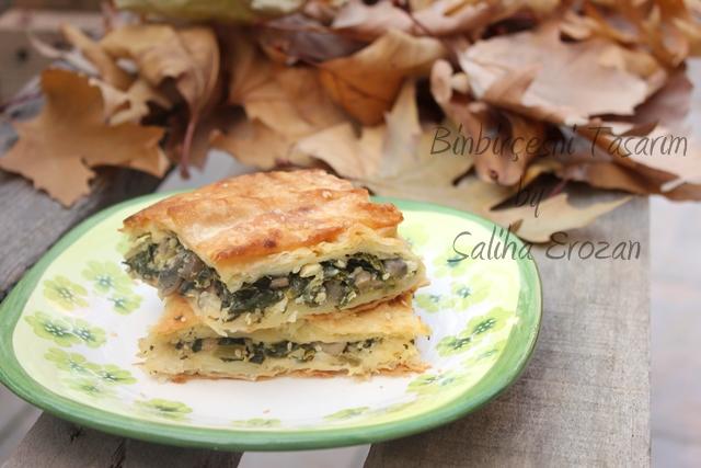 mantarlı ıspanaklı börek (5)