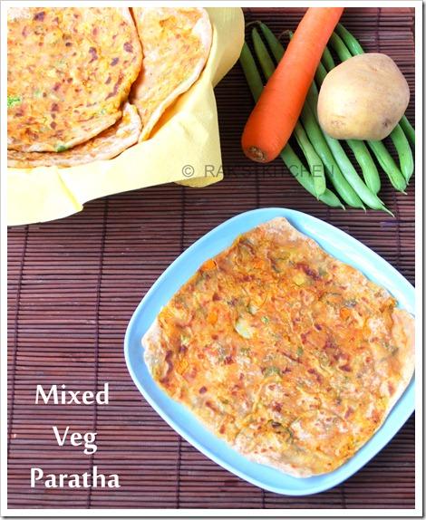 Mixed-vegetable-paratha