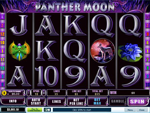 Panther Moon slot game online review