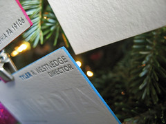 At Media Letterpress Note Cards