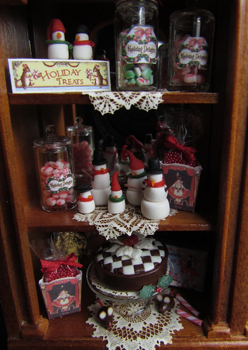 Christmas cabinet