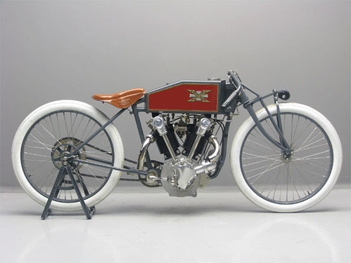 "Excelcior Boardtrack-Racer ""R"" 1000cc  OHC 1919 ( NL ) by vintage-revival"