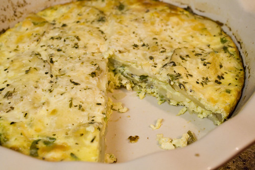 Egg & Potato Frittata Recipe