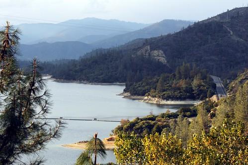 california county ca mountain lake beautiful town view scenic whiskey shasta whiskeytown konomark