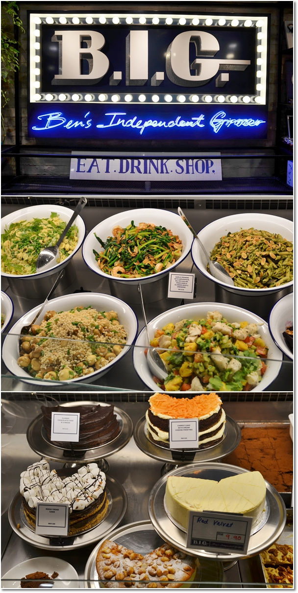 Selection of Salads, Pastas & Cakes