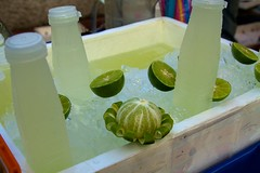Refreshing lime juice