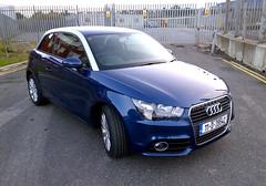 automobile, audi, executive car, wheel, vehicle, bumper, audi a1, land vehicle, hatchback,