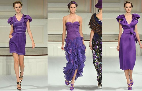 Oscar-de-la-Renta-primavera-diseños-purpura