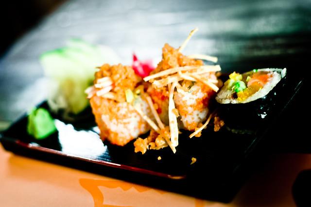 Free sushi! (2)