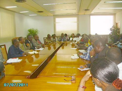 Le Ministre CISSE Ibrahima échange avec les candidats du Concours d'Agrégation