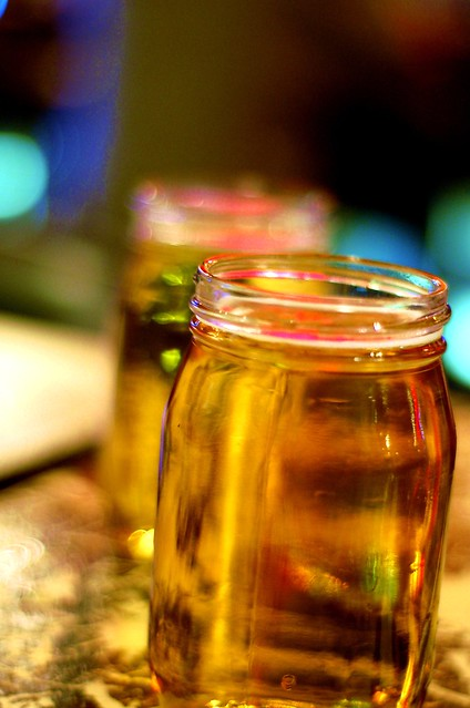 Beer in jars