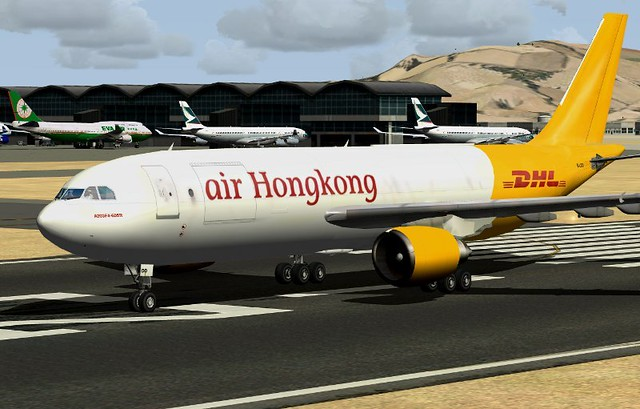 Air Hong Kong A300