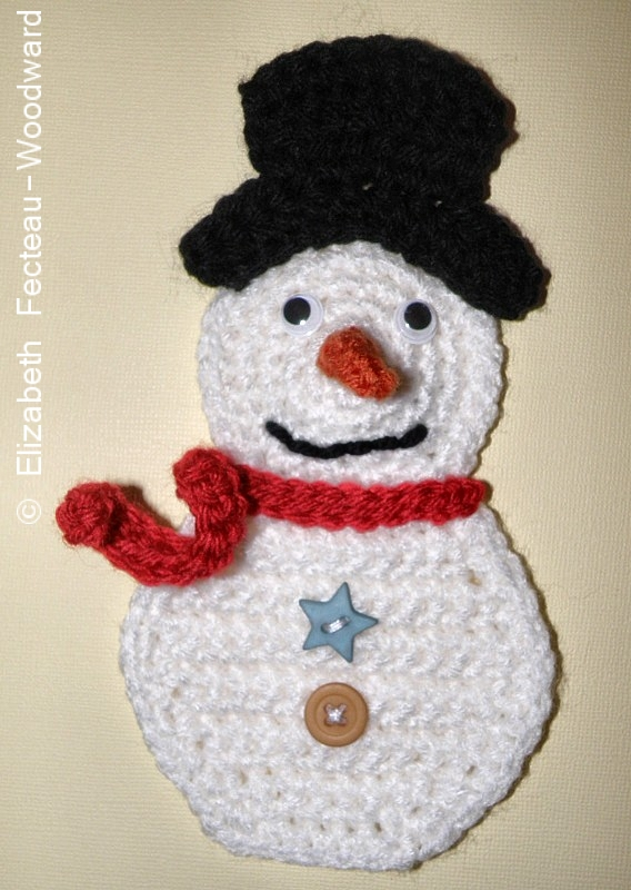 Crochet Patterns Free Snowman : Freddo Snowman Say-very Sweet Things