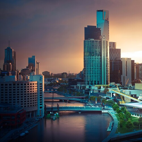 Melbourne City Australia by ?CubaGallery