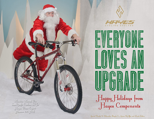 Hayes Components Santa Upgrades