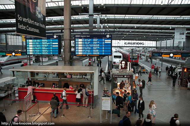 Munich Hauptbahnhof - Interior