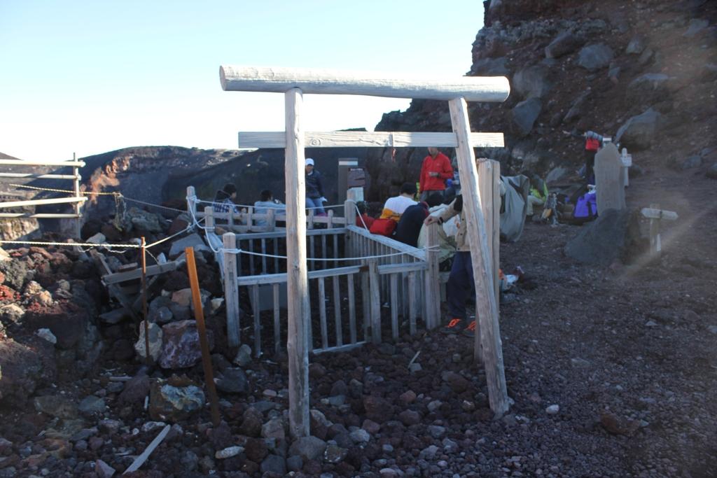 Mt. Fuji experience report (Yoshida route) Part4 (6)