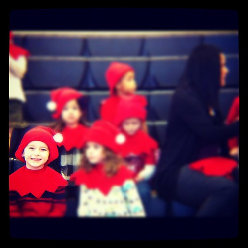 The preschool Christmas program