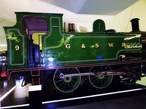 Veteran Steam Locomotive, 1917