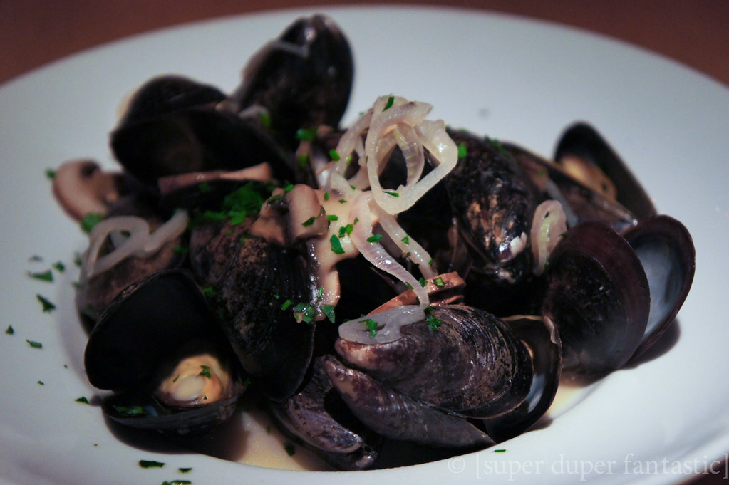 Chenery Park - Steamed Mussels