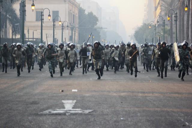 Army Raids Tahrir