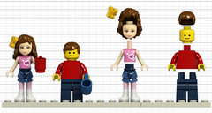 LEGO Friends vs. Minifigs