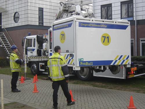 Utrecht: ProRail Accident Control Truck