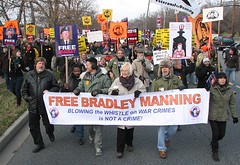 Article 32 'pretrial' Hearing Rally at Fort Meade