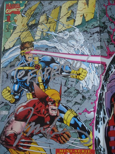 X-Men 1 signed by Claremont and Jim Lee