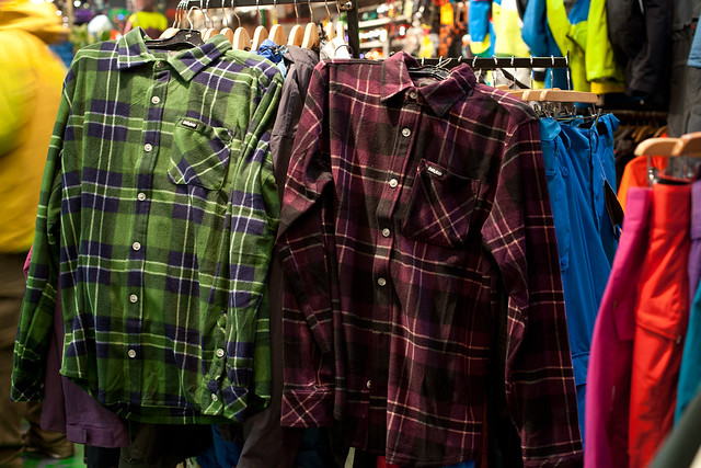 32 Flannel's at Evolution Whistler