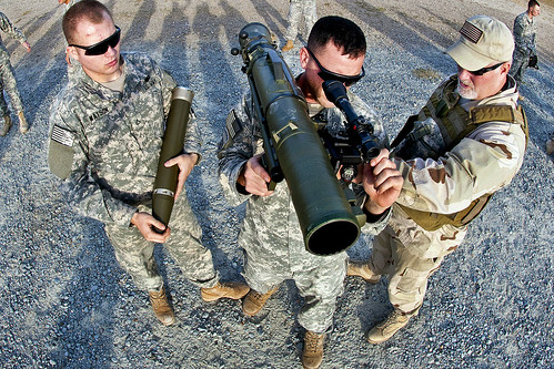 84mm recoilless rifle by The U.S. Army