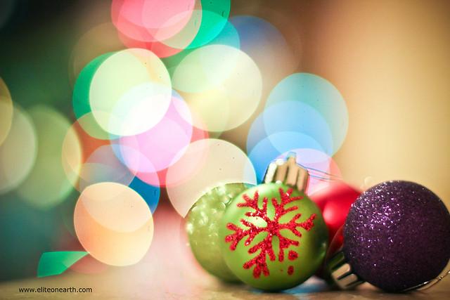 Merry Christmas (Bokeh)